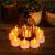 LED Kerzen, 24 Stück LED Flammenlose Tealights, Flackern Teelichter, elektrische Kerze Lichter Batterie Dekoration für Weihnachten, Weihnachtsbaum, Ostern, Hochzeit, Party - 3