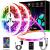 Led Strip, L8star 15m Led Streifen Farbwechsel Led Lichterkette Clever Rgb Led Bänder Stripes mit Bluetooth und fern Kontroller Sync zur Musik Led Leiste, Lichterkette bunt - 1