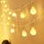 Lichterkette Kugeln, Kolpop 80er LED Lichterketten Batterie 8 Modus Lichterkette USB Strombetrieben Lichterkette mit Fernbedienung Wasserdicht Beleuchtung für Zimmer/Hochzeit/Party/Außen/Innen Decor - 1