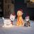 Lights4fun 30er LED Katze Weihnachtsbeleuchtung Außen Weihnachtsfigur mit Timer - 2
