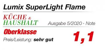 Lumix KRINNER Superlight Flame 6er Erweiterungs-Set kabellose LED Christbaumkerzen, Kunststoff, Elfenbein, 9 cm - 3