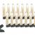 Lunartec LED Lichterkette Baum: LED-Weihnachtsbaum-Lichterkette mit 20 Kerzen, 3 Watt (Christbaum Lichterkette LED) - 1