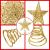 MICHETT Weihnachtsbaumspitze Stern Baumschmuck Christbaumspitze 20cm mit Frühling,Glitzernder baumkronen Ornament Party Dekoration für Weihnachtsbaumdekoration und Heimdekoration,Gold - 3