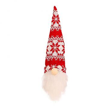 NMSLCNM Weihnachten Weinflasche Abdeckung, Rotwein Taschen für Dress up Weinflasche Wiederverwendbare Wein Geschenk Taschen, Weihnachten Dekoration Tischdekoration für Weihnachten Party (A) - 2