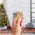 O-Kinee Weihnachtsbaumschmuck Holz, 16 Stück Christbaumschmuck Mit Hanfseil und beweglichen Holzperlen, 7.5cm - 3