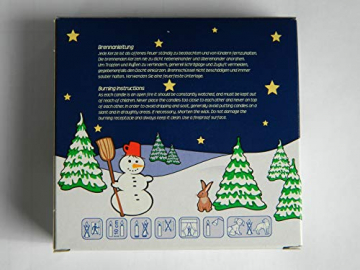 OLShop AG 2er Pack Baumkerzen weiß ca. 13 x 105 mm (2 x 20 Stück) Weihnachtskerzen, Christbaumkerzen, Pyramidenkerzen - 2