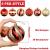 OurWarm 36er Set Christbaumkugeln,6 Arten von großem Rot und Gold bruchsicheren Weihnachtskugel Set für Weihnachtsbaumschmuck,Christbaumschmuck, Hochzeitsdekoration, (7cm Ø Durchmesser) - 2