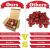OurWarm 36er Set Christbaumkugeln,6 Arten von großem Rot und Gold bruchsicheren Weihnachtskugel Set für Weihnachtsbaumschmuck,Christbaumschmuck, Hochzeitsdekoration, (7cm Ø Durchmesser) - 3
