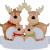 Outdoor Store Personalisierte Rentierfamilie, Christbaumschmuck, süße Weihnachtsmann-Winter-Geschenk-Jahr langlebig 2021 Familie Weihnachtsdekoration Set Kreatives Geschenk (Size : C) - 1