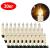 OZAVO 30er Weihnachten Kerzen LED Weihnachtskerzen Lichterkette Kabellos Baumkerzen Christbaumkerzen mit Fernbedienung - 2