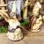PREMIUM Krippenfiguren 12er SET handbemalt/GEBEIZT in edler Echtholz - Optik für Holz Weihnachtskrippe Zubehör, komplett MIT HOLZBOX KFK-Box - saubere Gesichtszüge, feine Mimik, handbemalte - 4