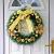Ruier-hui Weihnachtskranz Weihnachten Türkranz Weihnachten Dekoration Weihnachtsgirlande Kränze für Deko, Weihnachten, Advent, Türkranz Conventional - 3