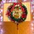 Ruier-hui Weihnachtskranz Weihnachten Türkranz Weihnachten Dekoration Weihnachtsgirlande Kränze für Deko, Weihnachten, Advent, Türkranz Conventional - 4