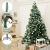 SALCAR Premium Weihnachtsbaum 180cm - Künstlicher Baum - Keine störenden Tannennadeln - Geruchslos - Christbaum - Dunkelgrün - 1,8m - 4