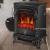 SEESEE.U Elektroherd 2000 W realistische 3D-Flammeneffekt Sicherheit tat Kamin Heizung Holzflammeneffekt dreiseitige Glas freistehende Kamine Monochrome Flamme - 3