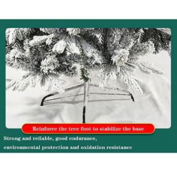 shelf Weihnachtsbaum, 180 cm, schneebeflockt, schön gearbeitet, beflockt, künstlicher Baum, saisonale Innendekoration, perfekter Urlaub beflockter Schnee Weihnachtsbaum - 4