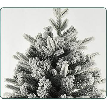 shelf Weihnachtsbaum, 180 cm, schneebeflockt, schön gearbeitet, beflockt, künstlicher Baum, saisonale Innendekoration, perfekter Urlaub beflockter Schnee Weihnachtsbaum - 5