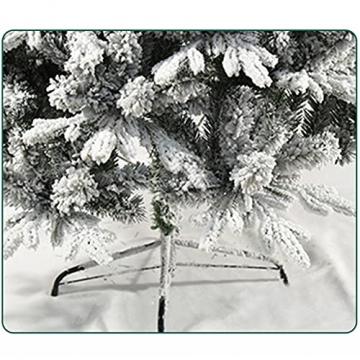 shelf Weihnachtsbaum, 180 cm, schneebeflockt, schön gearbeitet, beflockt, künstlicher Baum, saisonale Innendekoration, perfekter Urlaub beflockter Schnee Weihnachtsbaum - 6