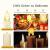 Soontrans LED Christbaumkerzen Kabellos Weihnachtsbaumkerzen Weihnachtskerzen Warmweiß Flammenlos mit Timer-Fernbedienung für Außen Innen Weinachtsdeko Halloween Hochzeit Party 20er - 3