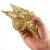 SpringPear® 15 cm Golden Weihnachtsbaumspitze Glitzernd Stern aus Metall Weihnachtsbaum Glitzer Topper Party Dekoration - 3