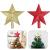 Sqxaldm Christbaumspitze Stern Verzierung Weihnachtsbaum Stern Baumspitze Kunststoff Stern Deko Christbaumspitze Glitzer Stern Weihnachtsbaum Topper Christbaumspitze Stern Weihnachtsbaum (2 Stücke) - 1