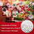 STCRERAG 25 Set Acrylkugel Befüllbar Weihnachtskugeln Kunststoff mit Loch Weihnachtsbaumkugeln Teilbar Bastelkugeln 4/6/8/10 cm Christbaumkugeln Kugel Dekokugel Transparent für Weihnachten Deko - 3