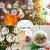STCRERAG 25 Set Acrylkugel Befüllbar Weihnachtskugeln Kunststoff mit Loch Weihnachtsbaumkugeln Teilbar Bastelkugeln 4/6/8/10 cm Christbaumkugeln Kugel Dekokugel Transparent für Weihnachten Deko - 4
