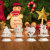 Sziqiqi 2er Set Vintage Kerzenleuchter Kerzenständer Kerzenhalter Windlichthalter aus Metall für Stumpenkerzen, Hurricane Kerzenständer Dekoration für Party Weihnachten Tisch Mantel Kamin, Weiß - 4