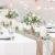 TAOCOCO Jute Tischläufer 5 Stück Rustic Burlap Spitze Hessischen Rustikale Land für Hochzeit Festival-Ereignis Tischdekoration 30 x 275cm - 4