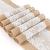TAOCOCO Jute Tischläufer 5 Stück Rustic Burlap Spitze Hessischen Rustikale Land für Hochzeit Festival-Ereignis Tischdekoration 30 x 275cm - 1