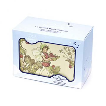 Trousselier - Blumenfeen - Flower Fairies - Musikschmuckdose - Spieluhr - Ideales Geschenk für junge Mädchen - Phosphoreszierend - Leuchtet im Dunkeln - Musik Mozarts Zauberflöte - Farbe grün - 7