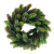 VOSAREA 30cm Weihnachtskranz Künstlicher Wandkranz Türkranz Kiefe Dekokranz Tannenkranz Weihnachtsgirlande Kränze Deko für Weihnachten Hochzeit Haus DIY Ornament (Grün) - 2