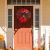Weihnachtskranz Tür außen Deko 38CM,Weihnachtsmann Türkranz Adventskranz Schneemann Weihnachten Kranz Dekokranz Hängende Wand Verzierung Weihnachtskugelnkranz Fenster Dekoration Weihnachts Zubehör - 4