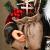Weihnachtsmann Figurenpuppe 30/45cm Weihnachtsfigur Weihnachtsdeko Weihnachtsschmuck, Roten Robe-Verzierung, Weihnachten für Kinderfamilie und Freunde - 3