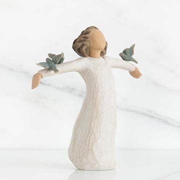 Willow Tree 26130 Figur Susan Lordi, Zufriedenheit, Glück, Fröhlichkeit, 3,8 x 3,8 x 14 cm - 2