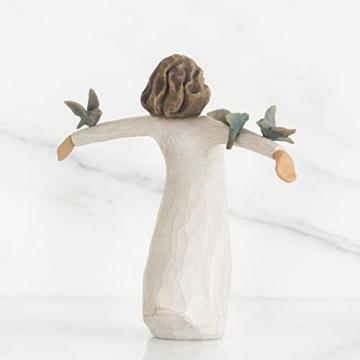 Willow Tree 26130 Figur Susan Lordi, Zufriedenheit, Glück, Fröhlichkeit, 3,8 x 3,8 x 14 cm - 3