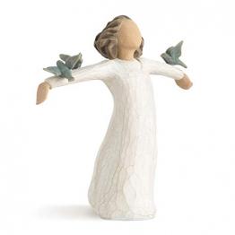 Willow Tree 26130 Figur Susan Lordi, Zufriedenheit, Glück, Fröhlichkeit, 3,8 x 3,8 x 14 cm - 1