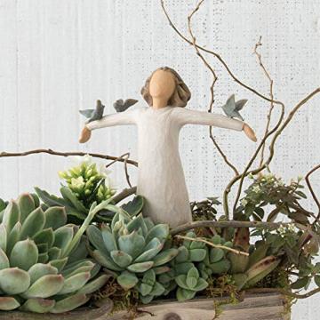 Willow Tree 26130 Figur Susan Lordi, Zufriedenheit, Glück, Fröhlichkeit, 3,8 x 3,8 x 14 cm - 5