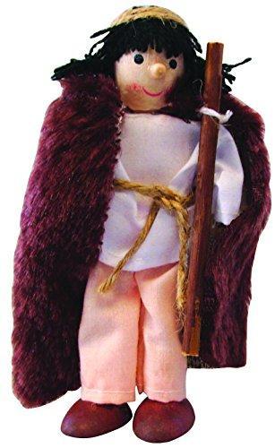 Winzlinge 309-21 Krippenfiguren Set klein - Weihnachten Weihnachtsgeschichtehte - 5