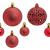 WOMA Christbaumkugeln Set in 14 weihnachtlichen Farben - 50 & 100 Weihnachtskugeln Rot aus Kunststoff - Gold, Silber, Rot & Bronze / Kupfer UVM. - Weihnachtsbaum Deko & Christbaumschmuck - 2