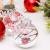 Yehapp Christbaumkugeln Kunststoff Set 30er - Weihnachtskugeln Glitzer Kugeln Ornamente 6CM für Weihnachtsbaum Deko - Rot/Grün/Pink/Gold/Orange/Blau/Weiß - 3
