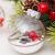 Yehapp Christbaumkugeln Kunststoff Set 30er - Weihnachtskugeln Glitzer Kugeln Ornamente 6CM für Weihnachtsbaum Deko - Rot/Grün/Pink/Gold/Orange/Blau/Weiß - 4