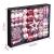 YILEEY Weihnachtskugeln Weihnachtsdeko Set Rosa 88 STK in 19 Farben, Kunststoff Weihnachtsbaumkugeln Box mit Aufhänger Christbaumkugeln Plastik Bruchsicher, Weihnachtsbaumschmuck, MEHRWEG - 3