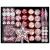 YILEEY Weihnachtskugeln Weihnachtsdeko Set Rosa 88 STK in 19 Farben, Kunststoff Weihnachtsbaumkugeln Box mit Aufhänger Christbaumkugeln Plastik Bruchsicher, Weihnachtsbaumschmuck, MEHRWEG - 1