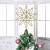 YQing 13.4 Zoll Weihnachten Baumspitze Stern, Christbaumspitze Glitzernden Baumspitze Stern Deko Weihnachten Baumkrone Tree Topper für Weihnachtsbaum Dekoration oder Wohnkultur - 2