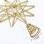 YQing 13.4 Zoll Weihnachten Baumspitze Stern, Christbaumspitze Glitzernden Baumspitze Stern Deko Weihnachten Baumkrone Tree Topper für Weihnachtsbaum Dekoration oder Wohnkultur - 3