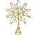 YQing 13.4 Zoll Weihnachten Baumspitze Stern, Christbaumspitze Glitzernden Baumspitze Stern Deko Weihnachten Baumkrone Tree Topper für Weihnachtsbaum Dekoration oder Wohnkultur - 1
