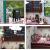 YUACY Puppen Haus Kit,DIY Architektur Modell Architektur MöBel Tasche Led Spieluhr Miniatur HöLzerne Puppe Haus Stern Kaffeebar - 4